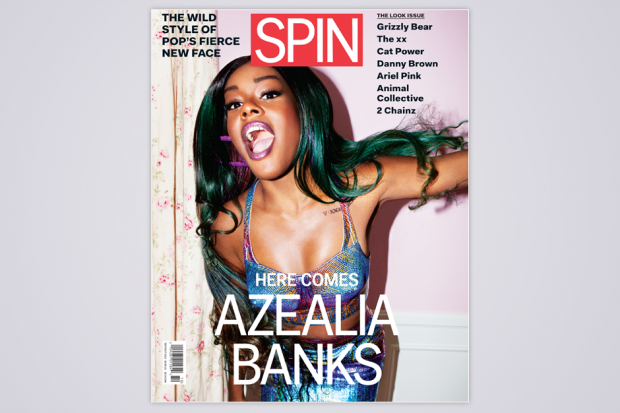 SPIN's September/October cover / Photo by Jason Nocito