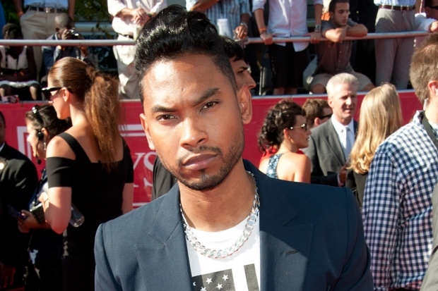Miguel at the 2012 ESPY Awards / Photo by Allen Berezovsky/Getty