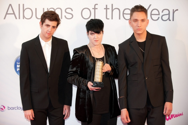 The xx with their 2010 Mercury Prize / Photo by Getty Images