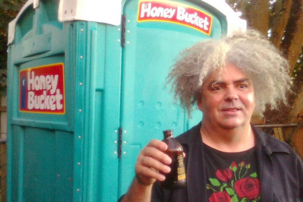 Buzz Osbourne / Photo by the Melvins