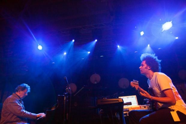 Philip Glass and Ty Braxton / Photo by Rebecca Smeyne
