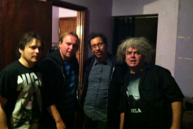 The Melvins with Kid Congo Powers / Photo courtesy of the Melvins
