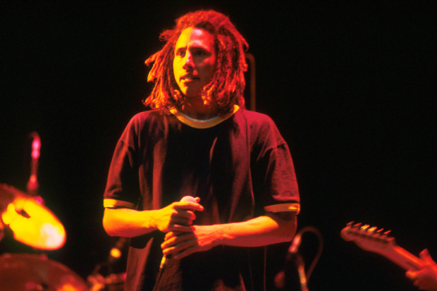 Zack de la Rocha, 1992 / Photo by Michael Putland/Getty