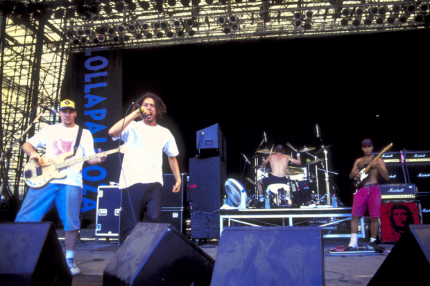 Rage Against the Machine at Lollapalooza '93, Stanhope, New Jersey / Photo by Steve Eichner/WireImage