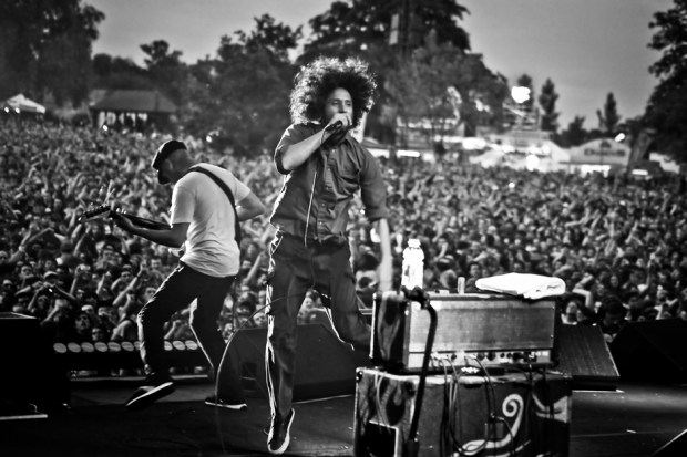 Rage Against the Machine perform as part of a free concert at London's Finsbury Park, June 6, 2010 in London / Photo by Christie Goodwin/Getty