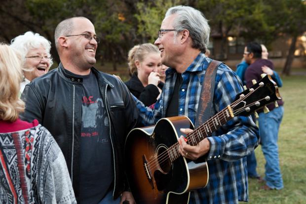 Josh Hartman and Radney Foster / Photo by Sean Mathis