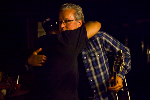 EJ Obregon and Radney Foster / Photo by Sean Mathis