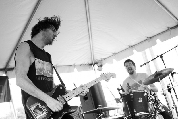 Japandroids at SXSW 2012 / Photo by Rebecca Smeyne
