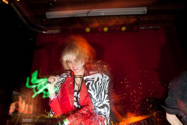 Karen O in Brooklyn / Photo by Lisa Corson