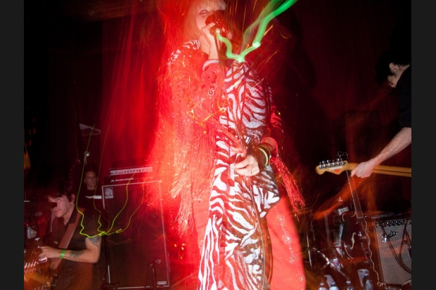 Yeah Yeah Yeahs in Brooklyn / Photo by Lisa Corson
