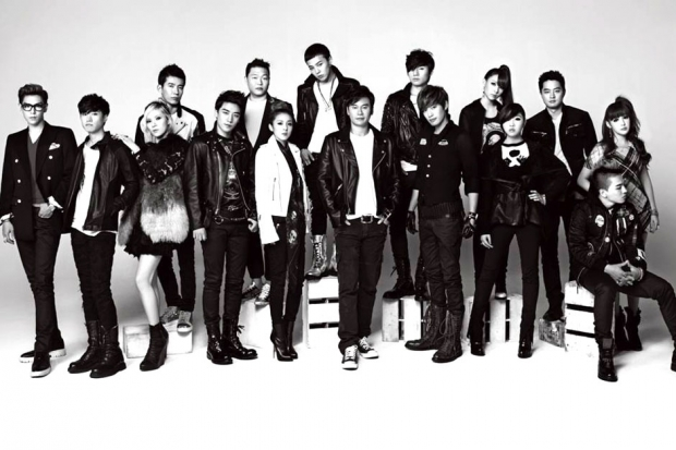 15th Anniversary YG Family  / Photo by YG Entertainment Inc.