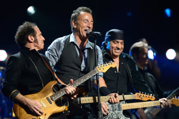 Bruce Springsteen and the E Street Band / Photo by Getty Images
