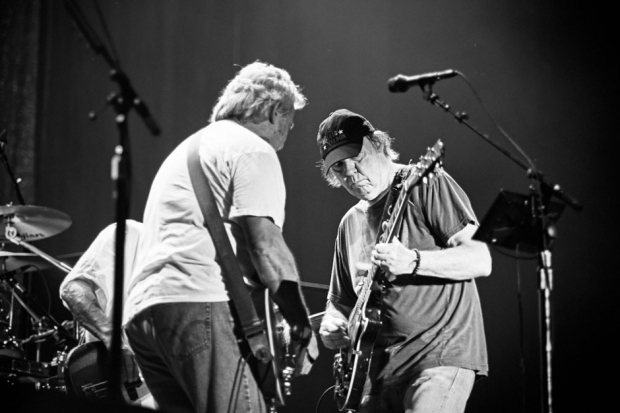Neil Young & Crazy Horse / Photo by Chad Wadsworth