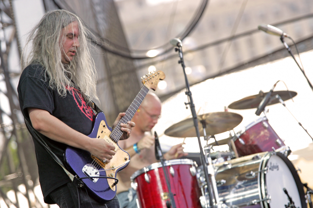 Dinosaur Jr. perform at Lollapalooza 2005 / Photo by Barry Brecheisen/WireImage