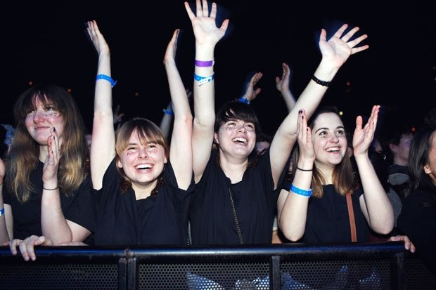 Tegan and Sara fans at their UIC Pavilion show. Photo by Brian Sorg