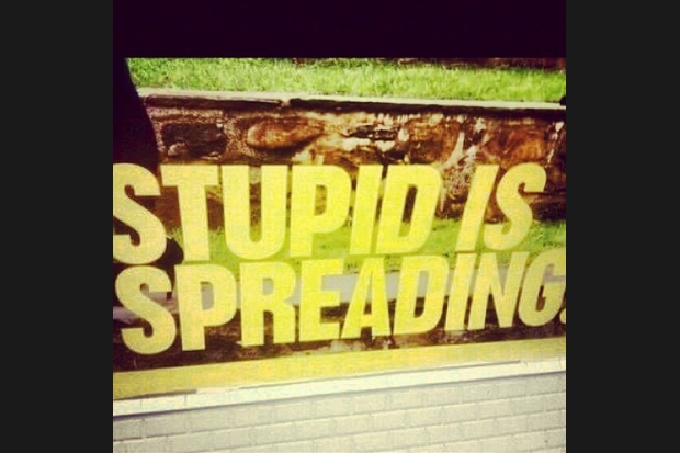 "Rotella: ""Stupid is spreading"""