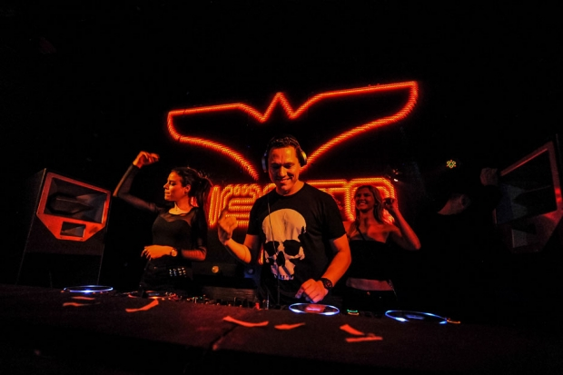 Tiesto performs at Marquee / Photo by Pearcey Proper