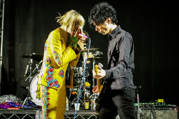 Yeah Yeah Yeahs at SXSW this year / Photo by Ian Witlen