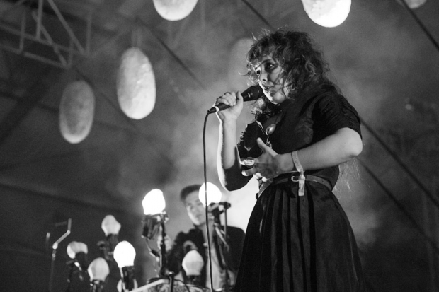Purity Ring / Photo by Andrew Swartz