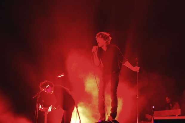 Phoenix perform at Coachella, 2013 / Photo by Andrew Swartz