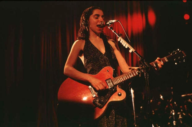 PJ Harvey in concert at Academy in New York City in 1993 /  Photo by Steve Eichner/WireImage