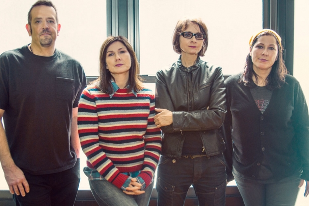 The Breeders, shot for SPIN, Brooklyn, 2013 / Photo by Andrew Kuykendall