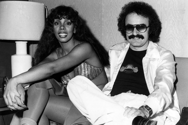 Moroder and Donna Summer, Italy, 1976 / Photo by Echoes/Redferns