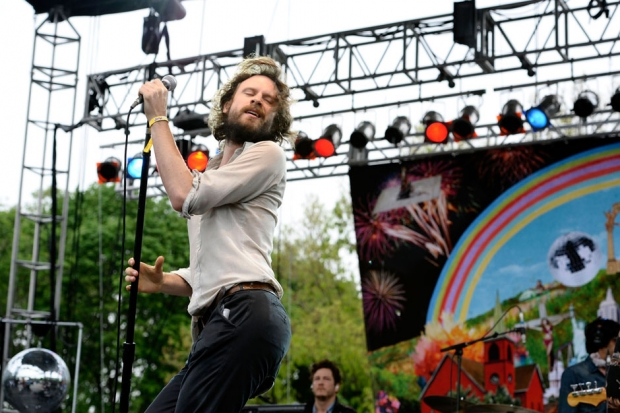 Father John Misty at the 2013 Great GoogaMooga / Photo by Ilya S. Savenok/Getty Images