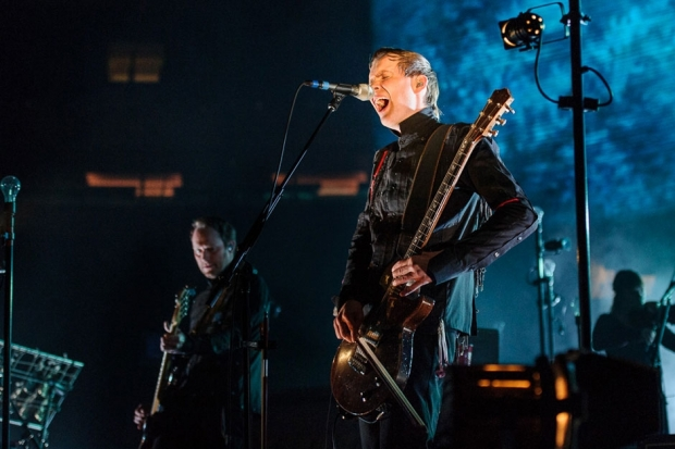 Sigur Rós perform at NYC's Madison Square Garden, 2013 / Photo by Jon Klemm
