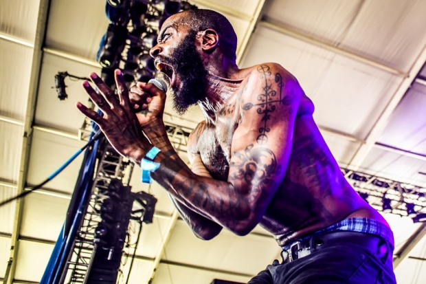 Death Grips / Photo by Ian Witlen