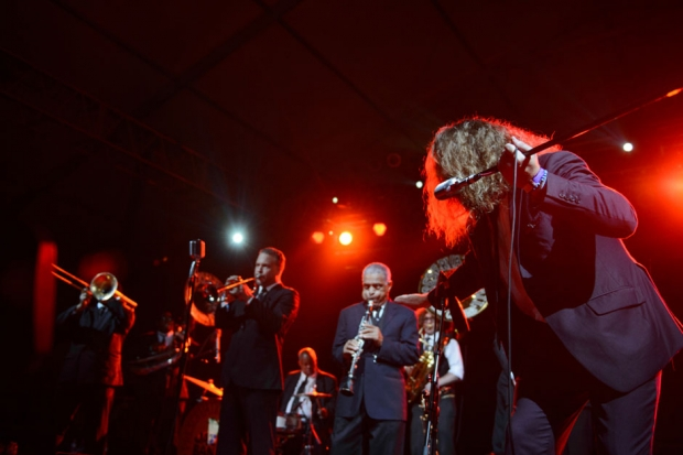 Preservation Hall Jazz Band feat. Jim James / Photo by Chad Kamenshine