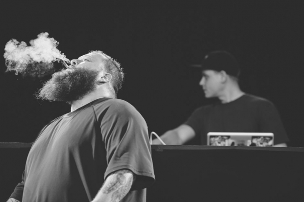 Action Bronson / Photo by Chad Kamenshine