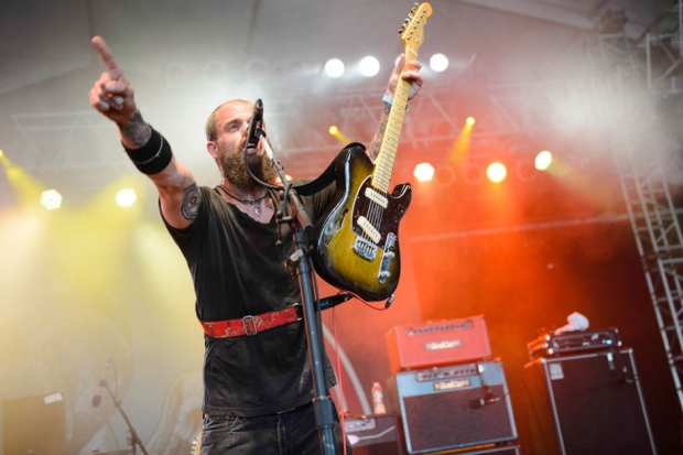 Baroness / Photo by Chad Kamenshine