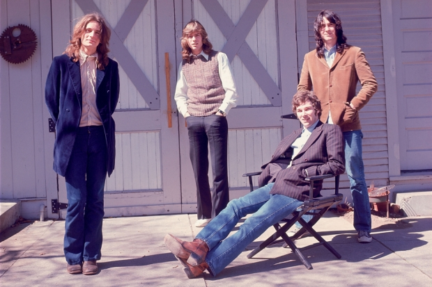Alex Chilton, Jody Stephens, Chris Bell and Andy Hummel in 1971 / Photo courtesy Magnolia Pictures