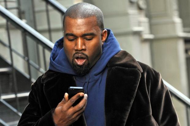 Kanye West in New York City, November 2012 / Bobby Bank/WireImage