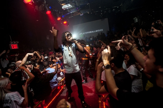 Migos perform at Westway, New York City, July 10, 2013 / Photo by Ryan Muir