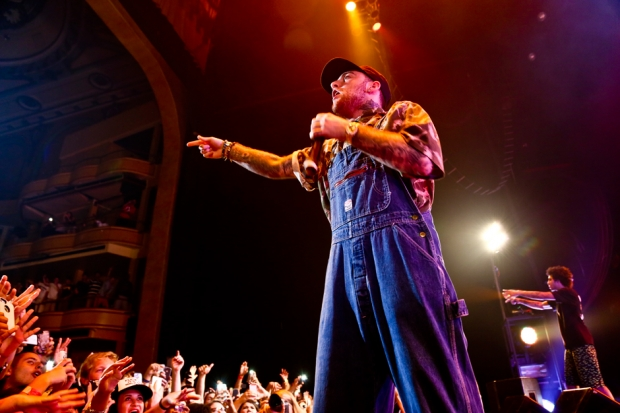 Mac Miller performs at Hammerstein Ballroom in New York City on July 16, 2013 / Photo by Krista Schlueter