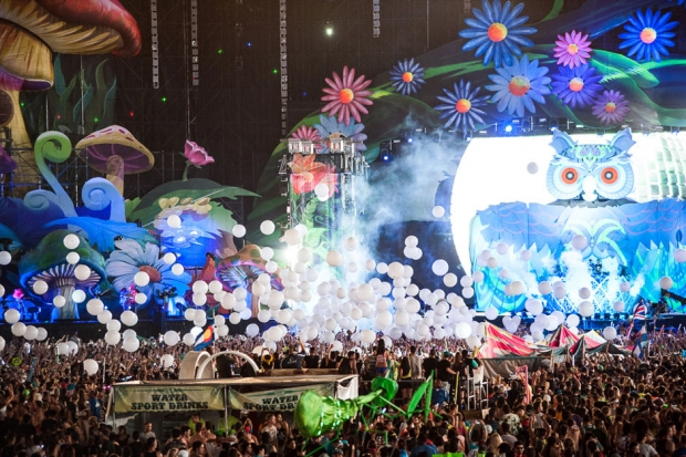 Electric Daisy Carnival 2013 / Photo by Wilson Lee