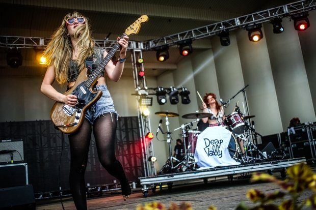 Deap Vally / Photo by Ian Witlen