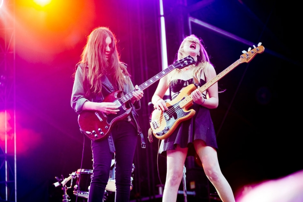 Haim / Photo by Wilson Lee