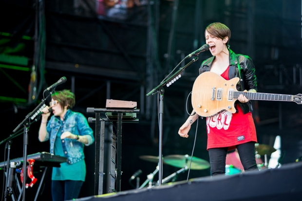 Tegan and Sara / Photo by Wilson Lee