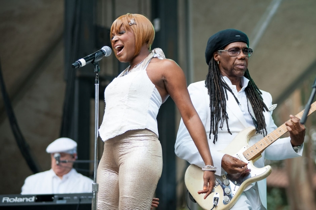 Chic featuring Nile Rodgers at Outside Lands, San Francisco, August 9, 2013 / Photo by Wilson Lee