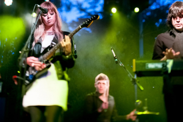 Chromatics at Outside Lands, San Francisco, August 9, 2013 / Photo by Wilson Lee