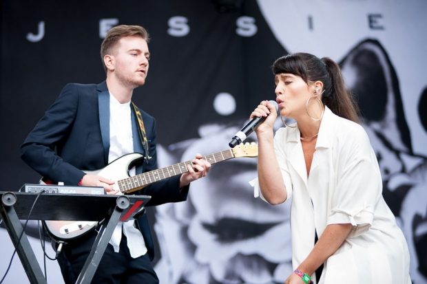 Jessie Ware at Outside Lands, San Francisco, August 9, 2013 / Photo by Wilson Lee
