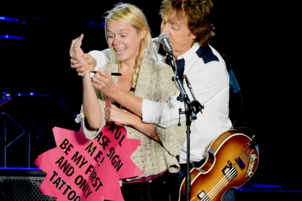 Paul McCartney At Outside Lands San Francisco August 9 2013 Photo By