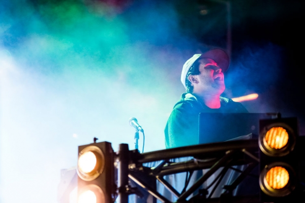 Pretty Lights at Outside Lands, San Francisco, August 9, 2013 / Photo by Wilson Lee