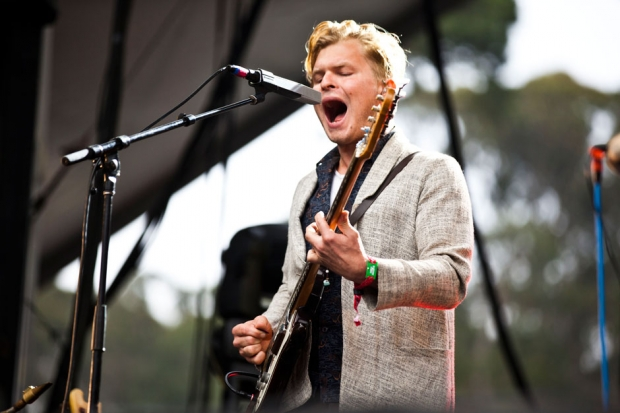 Grizzly Bear at Outside Lands, San Francisco, August 10, 2013 / Photo by Jolie Ruben