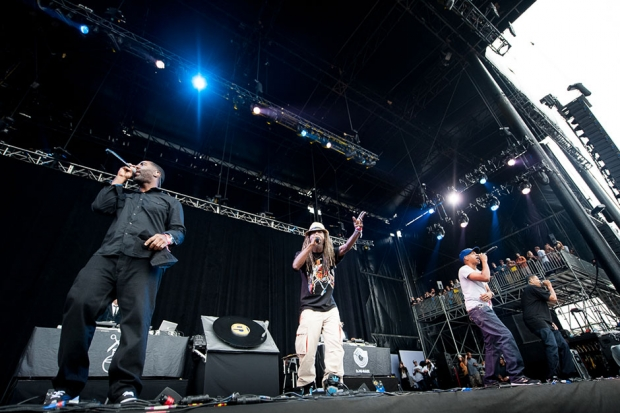 Jurassic 5 at Outside Lands, San Francisco, August 10, 2013/ Photo by Wilson Lee