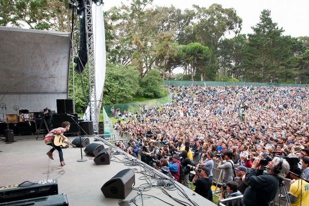 The Tallest Man on Earth at Outside Lands, San Francisco, August 10, 2013 / Photo by Wilson Lee