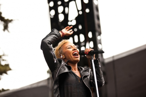 Emeli Sande at Outside Lands, San Francisco, August 11, 2013 / Photo by Jolie Ruben